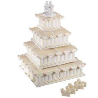Wilton 4 PIECE HEXAGON PAN SET Bake Tiered Wedding Cake 070896215727