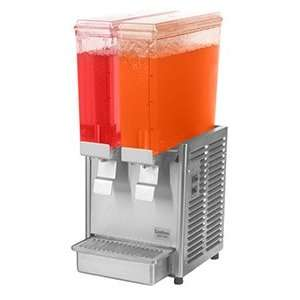 293 2.4 Gallon Double Bowl Cold Beverage Dispenser: Home & Kitchen