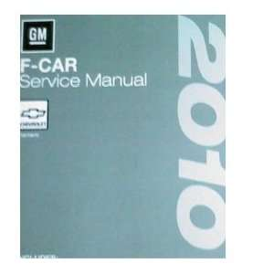2010 Chevrolet Chevy CAMARO Service Shop Repair Manual Set