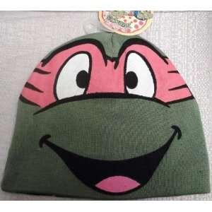 TEENAGE MUTANT NINJA TURTLES TMNT MICHAELANGELO Orange Knit Beanie Hat