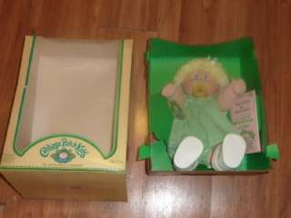 PATCH KID GIRL Doll CPK MINNI SHIRLEY BIRTH CERTIFICATE in BOX
