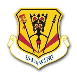 US Air Force 154th Wing Decal Sticker 5.5 Everything