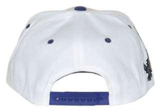 TCU TEXAS CHRISTIAN HORNED FROGS VINTAGE WHITE SUPER STAR SNAPBACK HAT