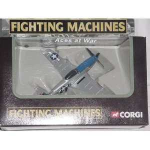 COLLECTION FIGHTING MACHINES ACES AT WAR P 51 MUSTANG: Toys & Games