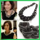Brand New Fashion Style Punk Heavy Black Link Knot Snake Chain Sweater