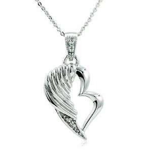 The Broken Wing Sterling Silver Necklace Deborah Birdoe