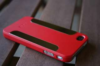 Red Case Cover Para Blaze for iPhone 4 4s + Screen protector USA