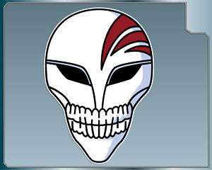 Bleach ICHIGO KAMEN Skull vinyl decal sticker Anime