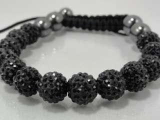 Mens Womens Swarovski Crystal Bracelet 6 Different Color Available