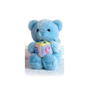 Plush Blue ABC Musical Teddy Bear By Aurora Toys & Games