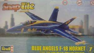 BLUE ANGELS F 18 HORNET REVELL MODEL KIT 1/72 851185