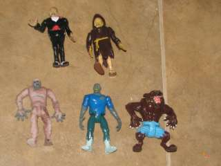 Tales of CryptKeeper Figure lot of 5 Mummy werewolf
