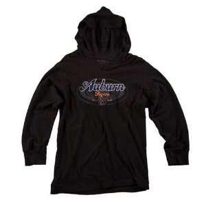 Auburn University Tigers Womens Black Hooded Tee Sports