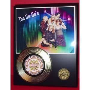 Gold Record Outlet GO GO S 24KT Gold Record Display LTD