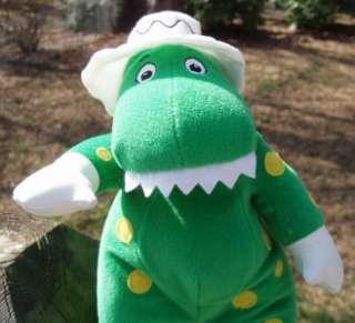 THE WIGGLES Dorothy the Dinosaur Stuffed Green Plush EC