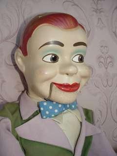 1950s JERRY MAHONEY VINTRILOQUIST DUMMY DOLL PUPPET NR