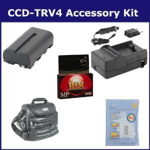 Sony CCD TRV4 Camcorder Accessory Kit includes HI8TAPE Tape/ Media