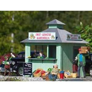 FRESH PRODUCE STAND   PIKO G SCALE MODEL TRAIN BUILDING