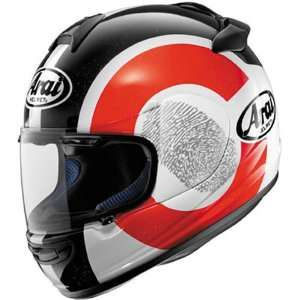 Arai Vector 2 Motorcycle Racing Helmet ID Black/Red