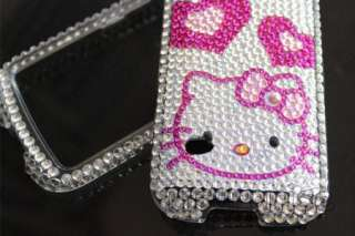 Bling Diamond Hearts Kitty Case Cover For Huawei Ascend II 2 M865