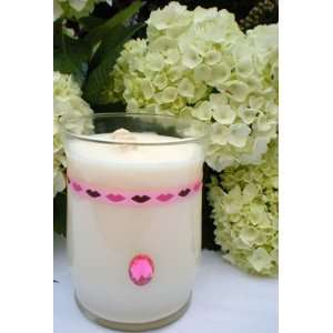 Blossom Via Vanilla Aromatherapy 16oz 100% Soy Candle: Home & Kitchen
