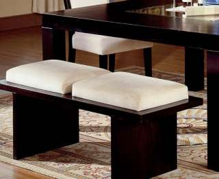 DINING SUITE KITCHEN MOVADO TABLE CHAIRS & BENCH SET