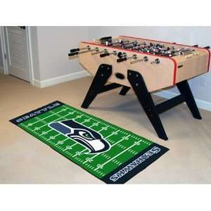 Seattle Seahawks Football Field Runner Mat Sports