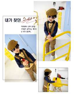 New South Koreas Child Beret Hats Stylish Baby Unisex Boys Girls Caps