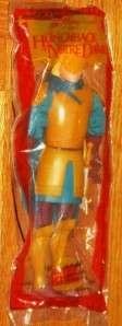 Mattel Hunchback of Notre Dame Phoebus Plush Doll Puppet Burger King