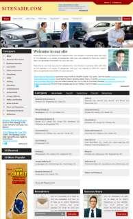 Established Auto Dealer Directory Business website Sale