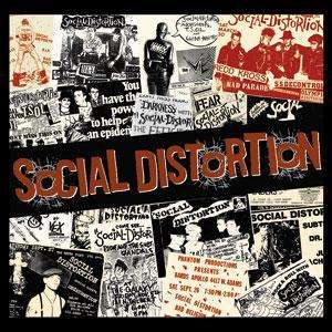 Social Distortion   Concert Flyers Logo Sticker Decal New