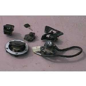 2000 Triumph Trophy Gas Cap Seat Lock Ignition Switch Key Automotive