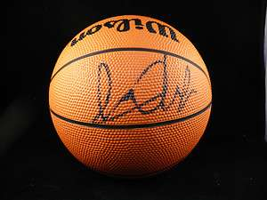 Marcus Camby Signed Mini Basketball Great Rare Item