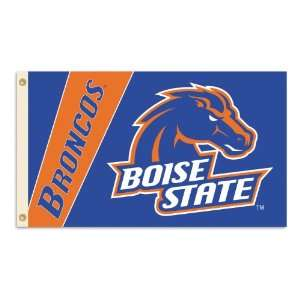 NCAA Boise State Broncos 2 Sided 3 by 5 Foot Flag with