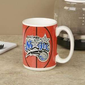 Orlando Magic Pewter Logo Basketball Coffee Mug Sports & Outdoors