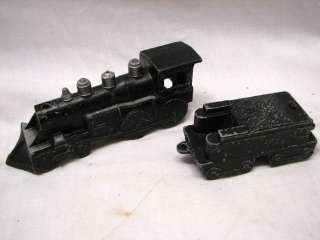 MIDGETOY TRAIN STEAM LOCOMOTIVE DIE CAST CAR SET RR