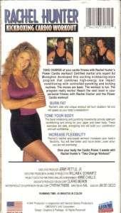 VHS: RACHEL HUNTER KICKBOXING CARDIO WORKOUT