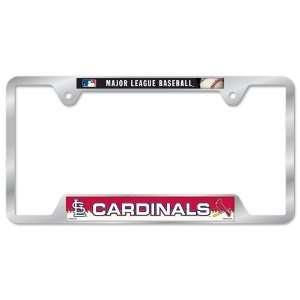 St. Louis Cardinals Metal License Plate Frame