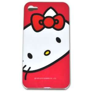 Hello Kitty Hard Case for Apple Iphone 4g (At&t Only) Jc008k + Free