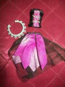 Monster High Spectra Vondergeist OUTFIT & SHOES for Barbie Doll only