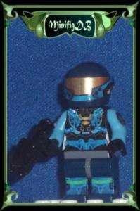 LEGO Custom minifig HALO Spartan Soldier in CQB armor