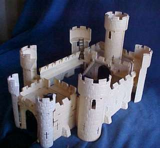 Vintage 1960s Ideal Crusader Castle Knight of Olde Play set Playset