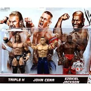 Mattel WWE Wrestling Exclusive Action Figure 3Pack Triple