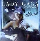 LADY GAGA   LOVEGAME THE REMIXES NEW CD