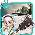 Nitro + Super Sonico Anime Car Decal Sticker 09