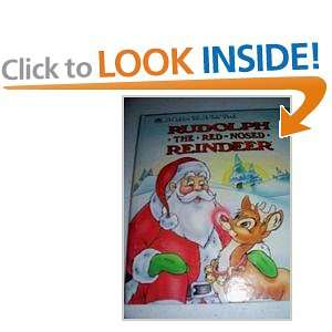 Rudolph the Red Nosed Reindeer (Golden Tell A Tale Book