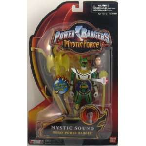 Power Rangers Mystic Force Mystic Sound 6 Inch Tall Action