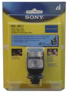 HVL HFL1 SONY CAMCORDER VIDEO LIGHT & FLASH HVLHFL1 NEW
