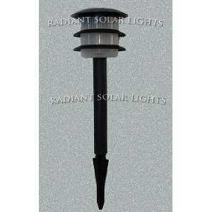Radiant Straitum black solar light/ lawn light: Everything
