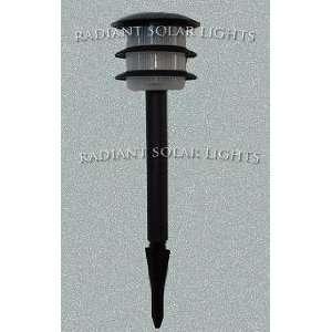 Radiant Straitum black solar light/ lawn light: Everything